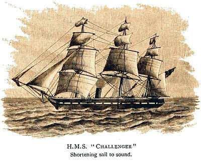 expedicion oceánica del barco Challenger