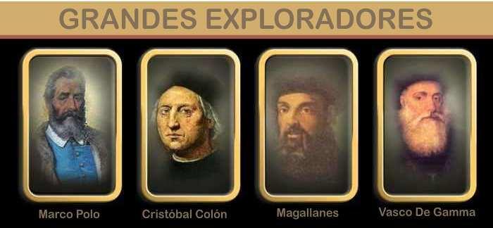 grandes exploradores del mundo