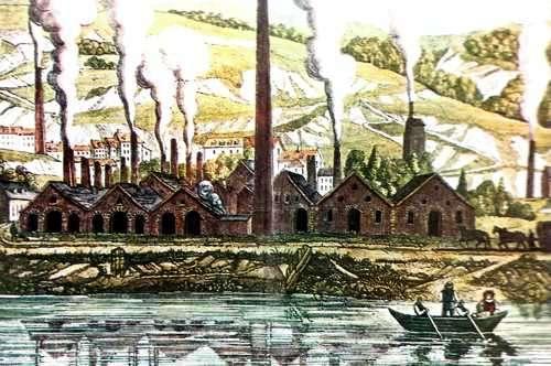 Vista de la Fundiciones Creusot