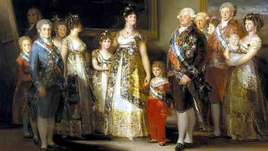 La Familia Carlos IV de España