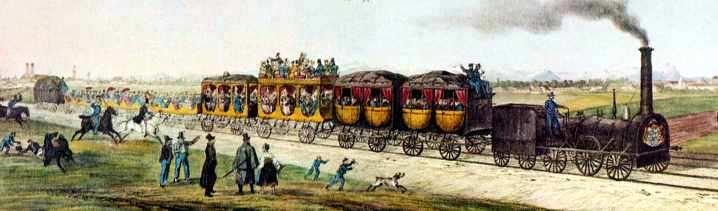 primera linea de ferrocarril