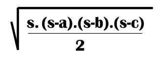 formula de Herón