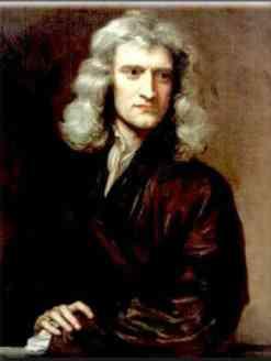 Isaac Newton matematico y fisico