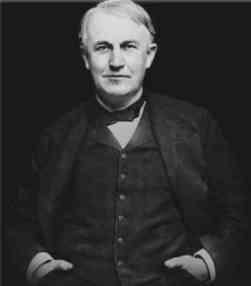 Tomas Edison inventor americano