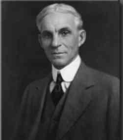 Henry Ford inventor cadena montaje