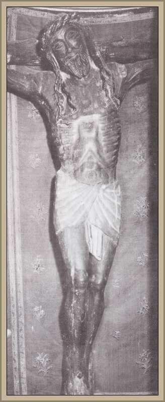 Cristo en el castillo de Francisco Javier