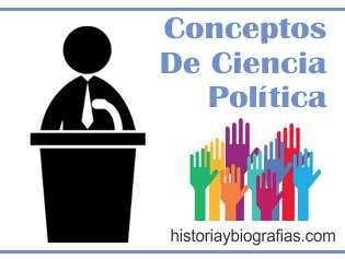 CONCEPTOS DE ciencias politicas