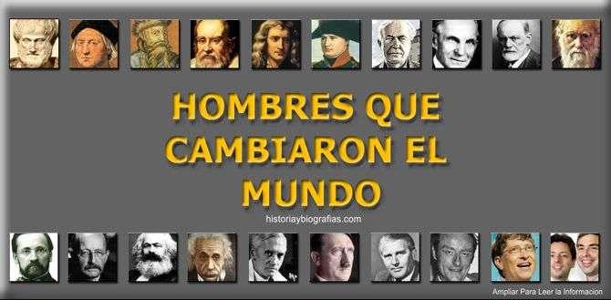 hombres influyentes del mundo