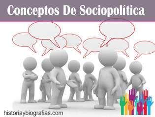 CONCEPTOS DE SOCIO POLITICA