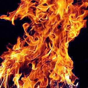uso del fuego por el hombre