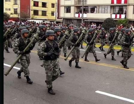 Desfiles de Fuerzas Armadas
