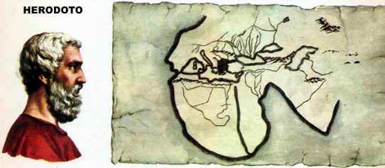 mapa de herodoto