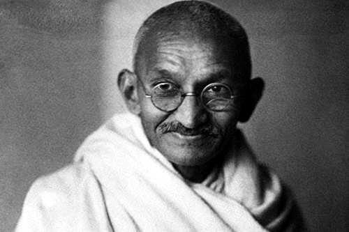 Mahatma Gandhi lider espiritual de la India
