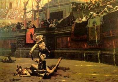 Gladiador, juegos en el circo romano