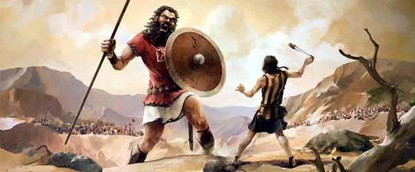 lucha de david con goliath