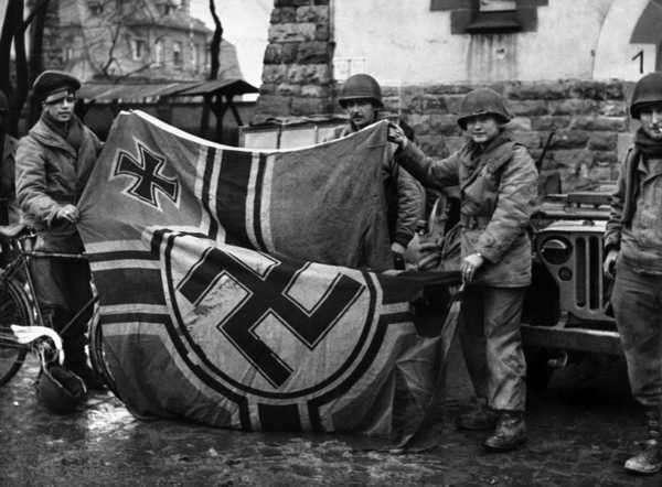 fin de la segunda guerra mundial 1945