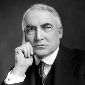 Harding  presidente de ee.uu.