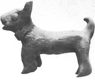 figura de arcilla de harappa
