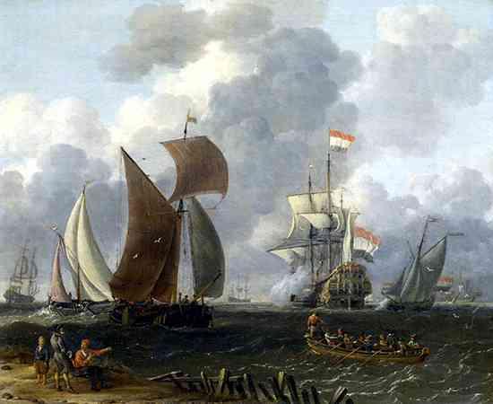Flotas de Barcos Holanda