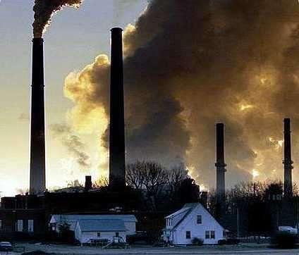 humo de fabricas