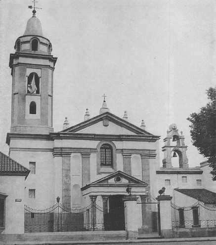 Monumento Histórico Nacional: Iglesia del Pilar