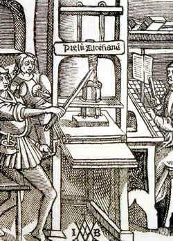 invencion de la imprenta