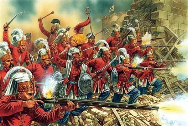 jenizaron en el imperio otomano