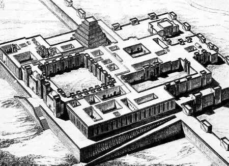 Palacio de Sargón asiria