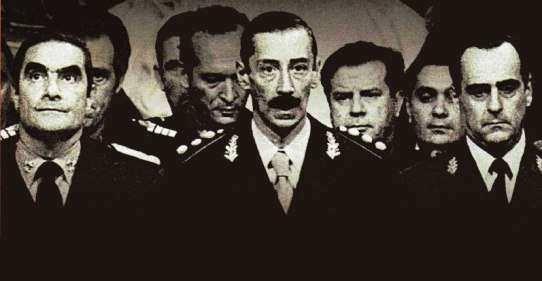 Junta Militar del Golpe en 1976