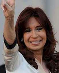 CRISTINA Kirchner senadora nacional
