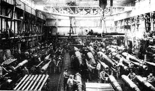 fabrica de la segunda revolucion industrial