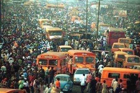 vista de la ciudad de Lagos