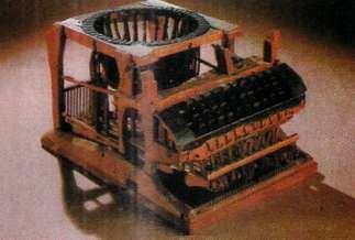 primera maquina de esquibir-inventos de la historia