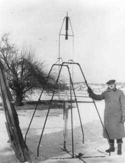 experiencia del primer cohete ruso