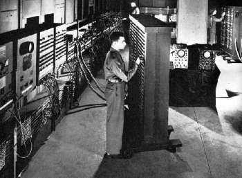 eniac primer computadora a válvulas