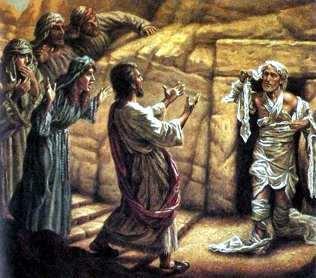 Lázaro y Cristo