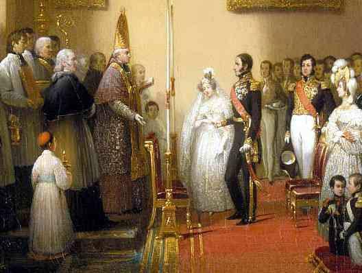 Casamiento con Luisa María de Orleans