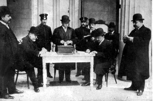 Ley Electotal 1912