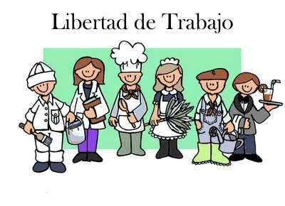 libertad de trabajo