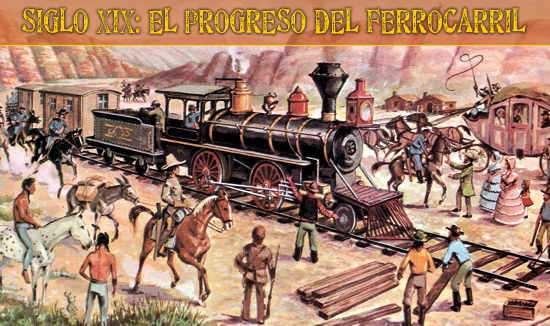 progreso del ferrocarril