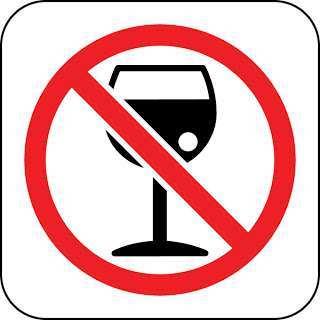 logo de prohibido alcohol