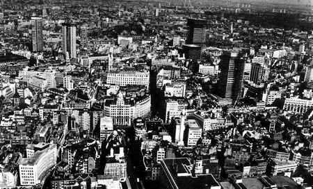 londres vista aerea siglo xx
