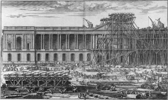 historia del museo de louvre