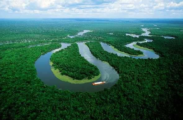 Amazonas bellos lugares del mundo