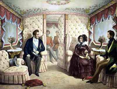 Luis Felipe I y la Reina Victoria