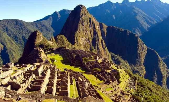 ruinas en perú: machu picchu