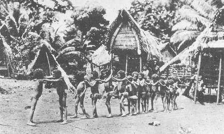 niños de una tribu africana