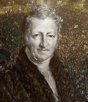 Malthus la sobrepoblacion