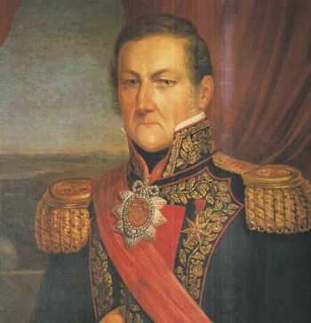 Juan Manuel de Rosas Retrato Óleo