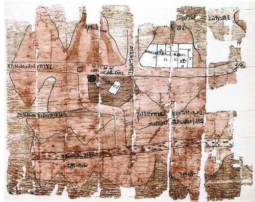 mapa antiguo de egipto